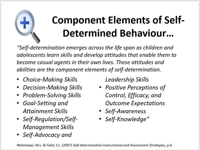 Self-Determination - Learning for All
